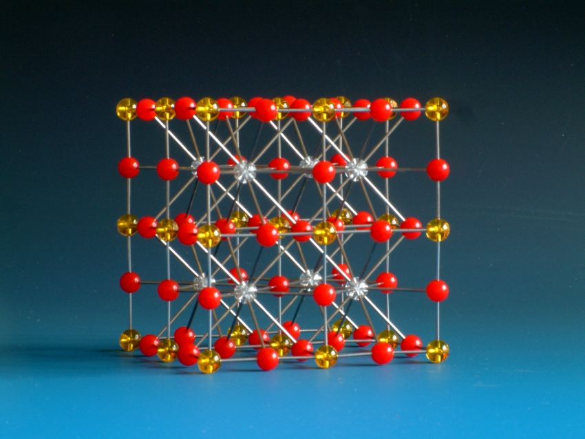 Crystal structure model of Perovskite