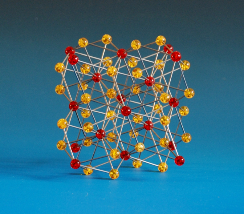 A crystal structure model of copper magnesium alloy