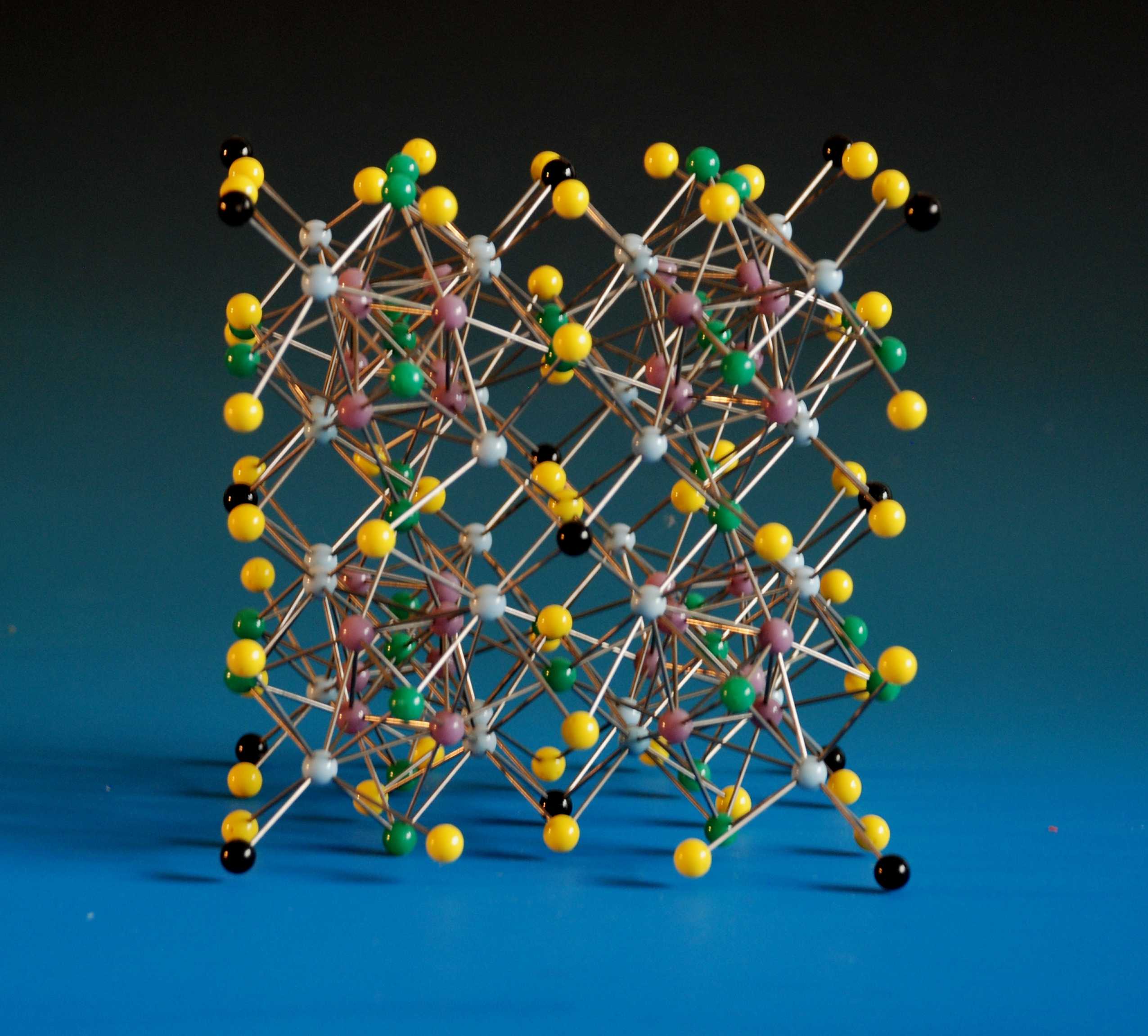 A crystal structure model of Manganese Thorium alloy