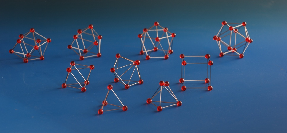molecular models of coordination polyhedra